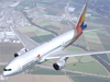Asiana Airlines Boeing 777-300 in Flight