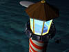 Santas Lighthouse Lantern