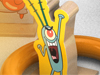 Spongebob Ring Toss Game